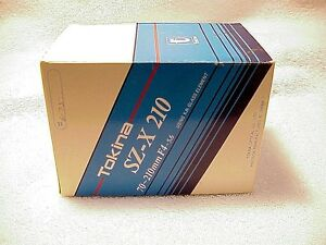 70-210mm F4.0-5.6 Tokina SZ-X 210 Minolta MD Mount | New | X370 X570 X700 XG SR