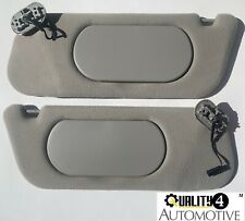 MERCURY MOUNTAINEER FORD EXPLORER GRAY Cloth LIGHTED Sun Visors OEM