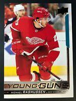 2018-19 Michael Rasmussen Young Guns Rookie