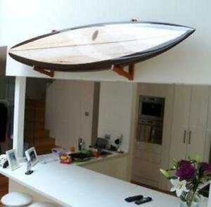 Hand made timber or wood surfboard racks and stands