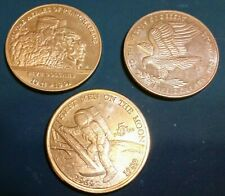 Lot of 3 ($15 face), Five Dollar Marshall Island Coins