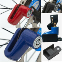 Motorcycle Bike Disk Brake Wheel Lock Security With 2 Keys Accessory Anti Thief