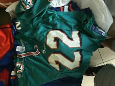 Reggie Bush  Miami Dolphins  green  youth jersey youth Large