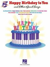 """HAPPY BIRTHDAY TO YOU"" AND OTHER GREAT SONGS - HAL LEONARD PUBLISHING CORPORATI"