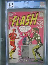 Flash #106 CGC 4.5 DC Comics 1959 Origin & 1st app Gorilla Grodd & Pied Piper
