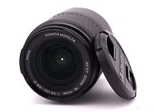 KONICA MINOLTA DT 18-70mm f3.5-5.6D Auto Focus Zoom Lens Fit Sony ALPHA DSLR