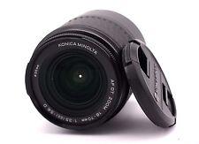 KONICA MINOLTA DT 18-70mm f3.5-5.6D Auto Focus Zoom Lens Fit Sony ALPHA DSLR