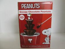 Peanuts Snoopy Chocolate Fountain Fondue Smart Planet