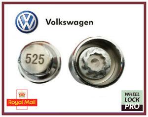 New Volkswagen VW Locking Wheel Nut Key Number 525 'E' - UK Seller