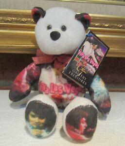 """Elvis Presley Viva Las Vegas Plush 9"""" Plush Bear Limited Treasures #007 NWT NICE"""