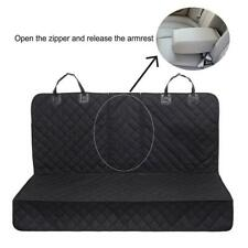 Dog Seat Covers 100% Waterproof Pet Car Seat Cover Nonslip Bench Seat Covers