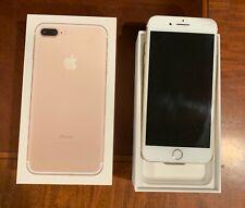 Apple iPhone 7 Plus - 128GB - Rose Gold (Sprint) A1661 (CDMA + GSM) Unlocked.