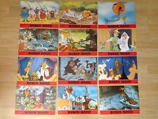 Aushangfotos * 12 AHFs * Robin Hood * WA 1982 * Walt Disney