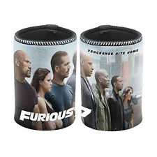 1x FAST & and FURIOUS Can Cooler Stubby Holder Paul Walker Vin Diesel Christmas