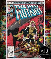 New Mutants #4 NM- 9.2 (Marvel) 1983