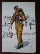 POSTCARD ROYAL ARMY MEDICAL CORPS MEDICAL ORDERLY 1944 ALIX BAKER