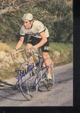 HUBERT LINARD cyclisme cp cycling autographe PEUGEOT 77