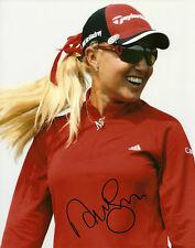 Natalie Gulbis Hand Signed 8x10 Photo Golf Autograph LPGA