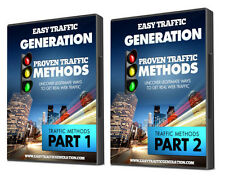 Proven Website Traffic Generation Strategies… 25 Web Traffic Methods-  1 CD ROM