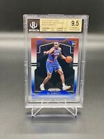 2019/20 NBA PANINI PRIZM RED WHITE & BLUE RJ BARRET ROOKIE BGS 9.5 TRUE 💎 MINT