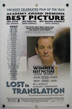 Lost In Translation - Bill Murray - Original Movie Poster 2003 Rolled Ds C8/C9