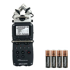 Zoom H5 with 4 FREE AA batteries