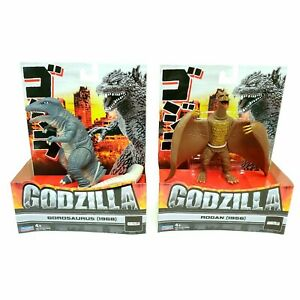 Playmates Godzilla GOROSAURUS and RODAN 1968 1956 Lot of 2