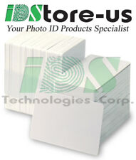 200 Blank White PVC Cards, CR80, 30 Mil, Credit Card Size, *** Free Shipping ***