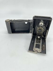 Kodak Brownie Autographic Folding No 2 Camera With Ball Bearing Shutter
