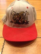 Batavia Muckdogs Game Used Fitted 7 1/2 Hat Philadelphia Phillies