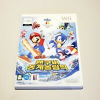 Mario & Sonic at the Winter Olympics (Nintendo Wii) - Korean Version - RARE!