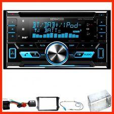 Kenwood DPX-7000DAB Bluetooth CD Einbauset für Golf 5 6 Passat 3C CC B7 Touran