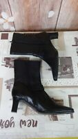EISENHARDT FASHION LADIES VLOGGERS GENUINE LEATHER ANKLE BOOTS SIZE 37EU/4UK di
