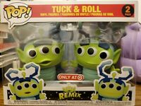 Funko POP! Bug's Life TUCK & ROLL REMIX Alien Toy Story Figures TARGET 2 Pack