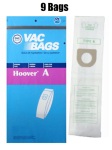DVC Microlined Hoover Type A 4010100A Allergen Vacuum Cleaner Bag 9 BAGS