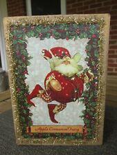 Mark Roberts - Apple Cinnamon Fairy Gold Christmas Box Empty