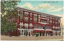 Hotel Albert in Selma AL Postcard