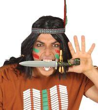 Coltello Indiano in plastica giocattolo Pirata Tarzan Costume PUGNALE Accessorio Halloween