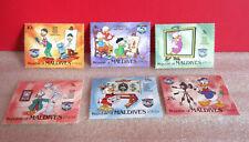 Disney Donald Duck'S Family Portriat Republic of Maldives Stamps Memorabilia
