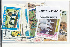 ZAR - AGRICULTURE : 50 TIMBRES DIFF. OBLI. Ts PAYS