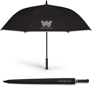 The Weatherman Umbrella - Golf Umbrella Made With Teflon-Coated Fabric And Withs
