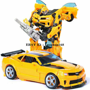 """New In Stock HZX Bumblebee H602 Movie Voyager Class Action Figure 7"""" Kids Toys"""