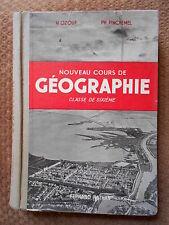 NOUVEAU COURS DE GEOGRAPHIE CLASSE DE 6ème - PH. PINCHEMEL & M. OZOUF