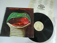 "URIAH HEEP INNOCENT VICTIM - LP 12"" G+/VG SPANISH FIRST PRESS 1977 BRONZE"