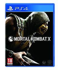 Mortal Kombat X (PS4) Sony PlayStation 4 PS4 Brand New