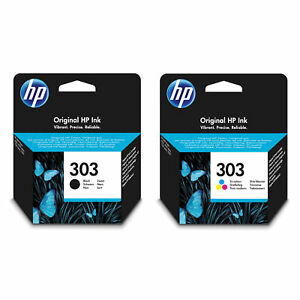 Original HP 303 Black & Colour Ink Cartridge For ENVY Photo 6234 7832 Printer UK