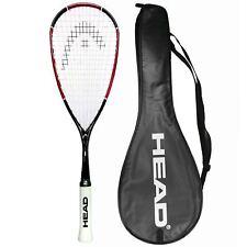 HEAD Nano Ti110 Squash Racket 3 DUNLOP Balls