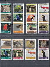 Guyanese Single Animal Kingdom Postal Stamps