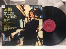 TOM JONES - DELILAH LP MONO VG+/EX+ 1970 1st MONO PRESS ITALY DECCA LKI 4946