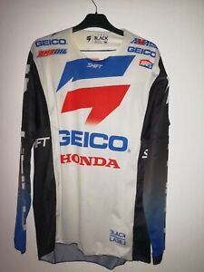 Sexton Chase Motocross signed jersey, used